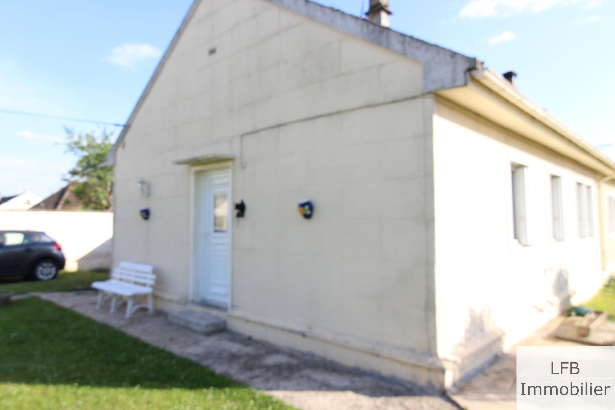 vente Chambly (60) Maison de plain-pied - 2 chambres - 320m2 de terrain